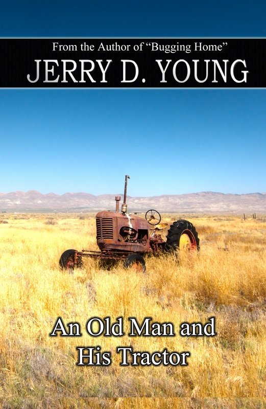 """Jerry D. Young """"An Old Man and His Tractor"""""""