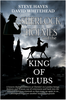 "Steve Hayes and David Whitehead ""Sherlock Holmes and the King of Clubs"""