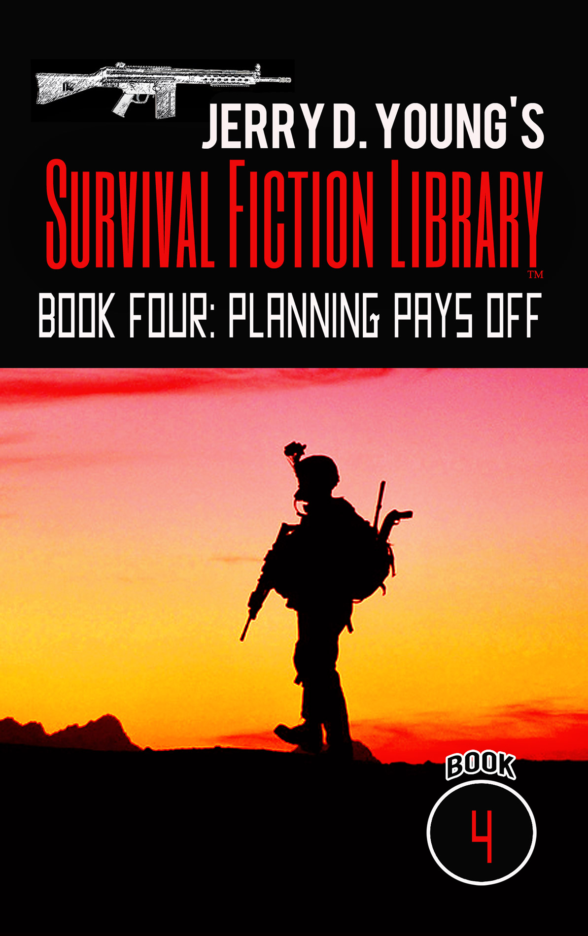 "Jerry D. Young Survival Fiction Library ""Book Four: Planning Pays Off"""