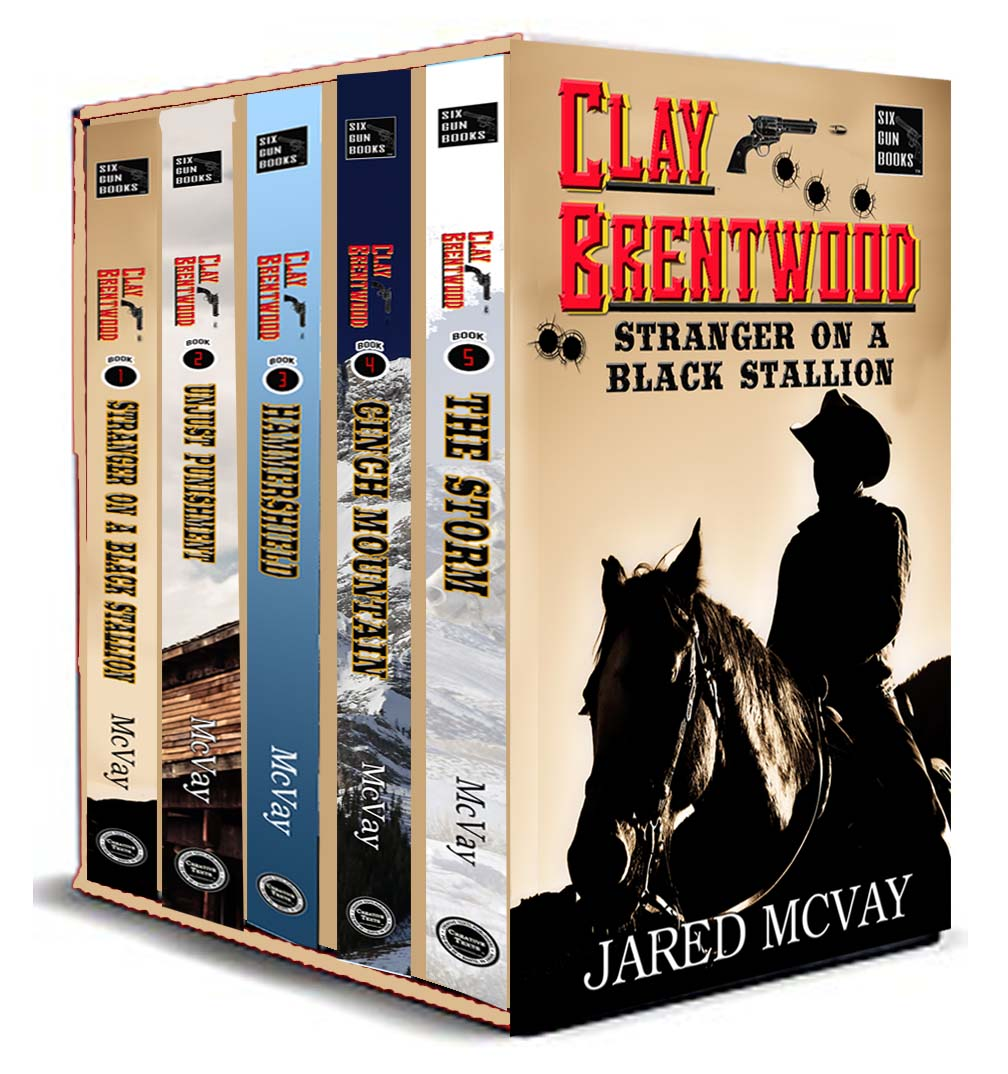 """""""Clay Brentwood: Books 1-5 Box Set"""""""