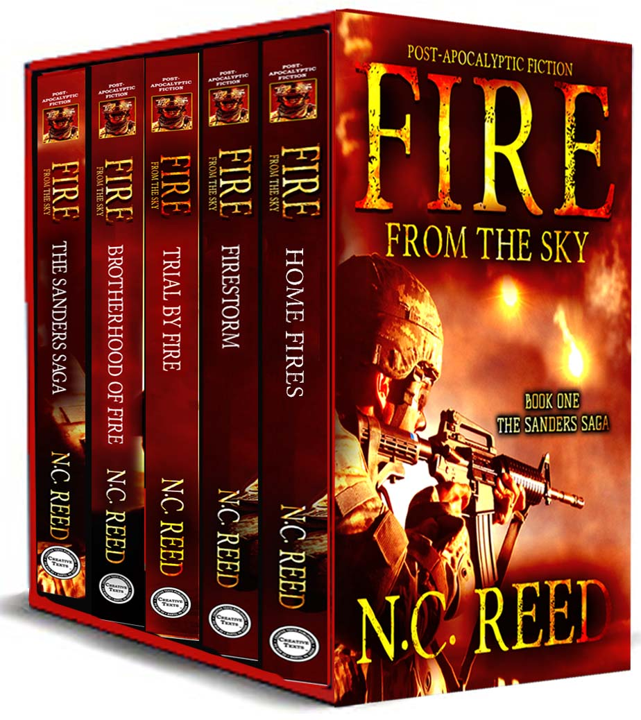 """Fire From the Sky: Books 1-5 Box Set"""