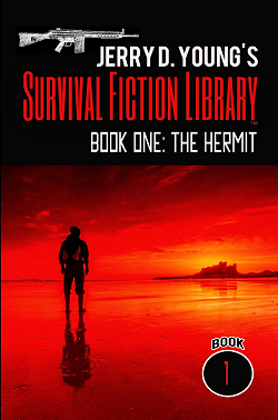 """Survival Fiction Library- Book 1: The Hermit"""
